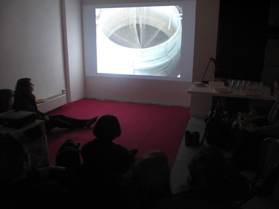 """Videoart Aperó"" / 27th March 2014 / Photo: Maycec"